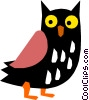 Owl Vector Clipart image