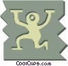 Vector Clipart graphic  of an Aliens