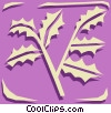 Vector Clip Art graphic  of a Nature