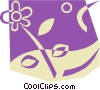 Vector Clip Art image  of a Nature