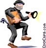 Vector Clipart graphic  of a Burglars
