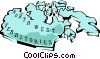 Northwest Territories map Vector Clip Art picture