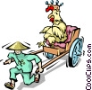 Vector Clipart image  of a Chinese food