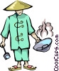 Chinese food Vector Clipart picture
