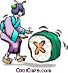 Vector Clipart picture  of a Chinese food