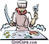 Chinese food Vector Clipart image