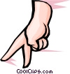 Hands Vector Clipart illustration