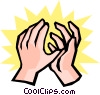 Hands Vector Clipart picture