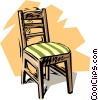 Vector Clipart graphic  of a Chair