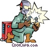 Welder Vector Clip Art picture