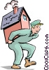 Vector Clipart illustration  of a Handymen