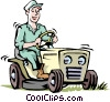 Vector Clip Art picture  of a Handymen