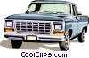 Vector Clipart illustration  of a Trucks