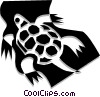 Vector Clipart illustration  of a Turtle