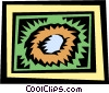 Vector Clipart picture  of a Nest