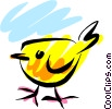 Vector Clipart picture  of a Birds