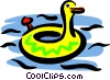 Rubber duck Vector Clipart picture