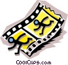 Vector Clipart picture  of a Filmstrip