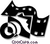 Vector Clipart graphic  of a Filmstrip