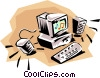 Computers Vector Clipart graphic