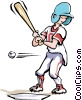 Baseball Vector Clip Art graphic