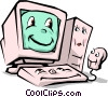 Vector Clipart picture  of a Computers