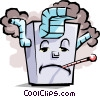Vector Clip Art image  of a Furnace
