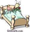 Bed bug Vector Clip Art picture