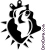 Vector Clip Art graphic  of a Heart