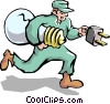 Handyman Vector Clipart picture