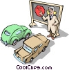 Traffic school Vector Clipart picture