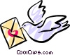 Vector Clipart illustration  of a Bird