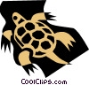 Vector Clipart graphic  of a Turtle