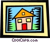 Vector Clipart picture  of a House