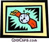 Vector Clip Art picture  of a Watch