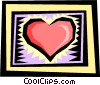 Vector Clip Art image  of a Heart