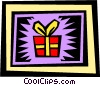 Gifts Vector Clipart illustration