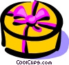 Vector Clipart graphic  of a Gifts