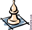 Chess pieces Vector Clipart illustration