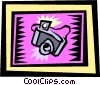 camera Vector Clipart image