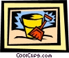 pail & shovel Vector Clip Art graphic