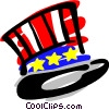 Vector Clip Art graphic  of a Uncle Sam's