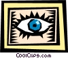 eye Vector Clipart illustration