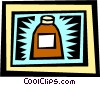 Vector Clipart graphic  of a medicine