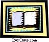Vector Clip Art graphic  of a religion/book