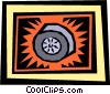 tire Vector Clipart picture