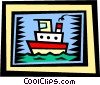 Ships Vector Clipart illustration
