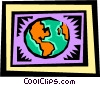 Globe Vector Clipart illustration