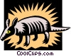 Armadillo Vector Clip Art picture