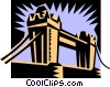 Tower Bridge Vector Clipart graphic